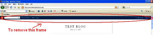 How to remove the blogger banner and change the default favicon of blogspot blogs